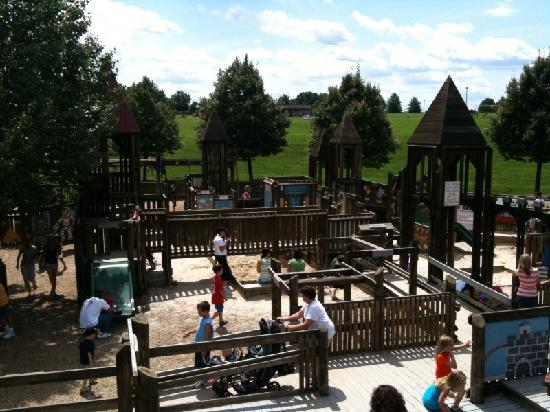 Kid S Castle Is A Fun Playground In Doylestown Pa In Bucks County