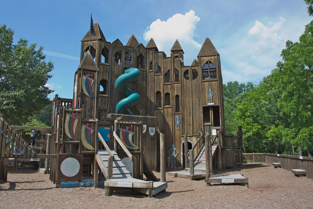 Kids Castle Is A Fun Playground In Doylestown Pa In Bucks County