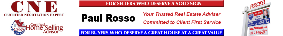 Paul Rosso, Your Trusted Adviser, RE/MAX Properties Ltd